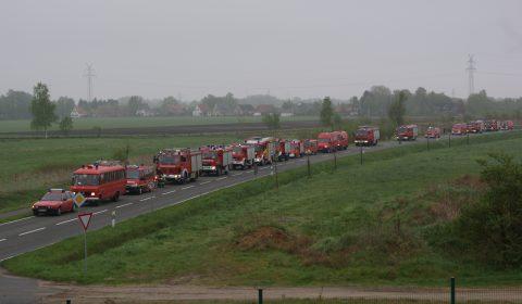Über 500 Einsatzkräfte übten in Bremervörde