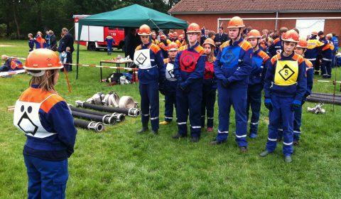 Kreiswettbewerb der Jungendfeuerwehr in Mulmshorn