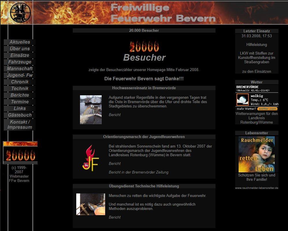Die Seite 2003-2010